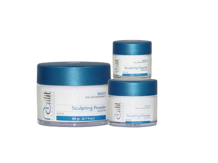 Sculpting Powder WHITE is de kleur voor helderwitte smile-lines zonder wolken bij elke French manicure nagelversteviging of -verlenging. De romige consistentie van deze co-polymer acrylpoeder geeft ultieme productcontrole en hechting en geeft in combinatie met Sculpting Liquid (acrylvloeistof) een medium snelle verwerking, met dunne, sterke en toch flexibele kunstnagels. - Co-polymer samenstelling. - Super productcontrole. - Intens wit. - Optimale interne verbinding.