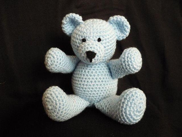 Free Crochet Pattern Amigurumi Elephant : 83 best Crochet: Amigurumi #2: Bears images on Pinterest
