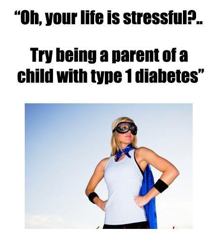Type 1 parents will get it. ;)