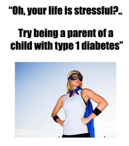 Only another parent with a child who has type 1 diabetes really understands...