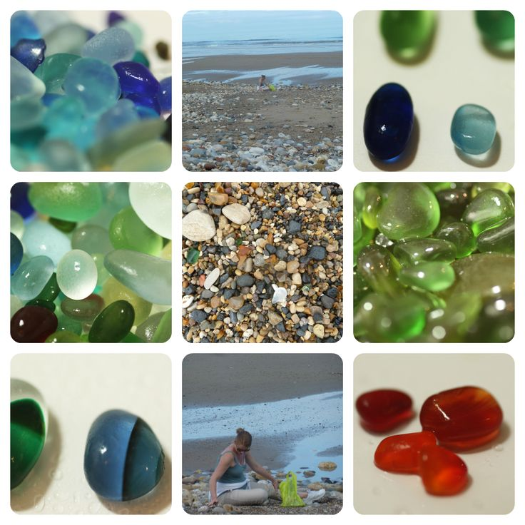 Seaham,  England  http://kriketbroadhurst.com/2012/07/glass-collecting-at-seaham-beach/
