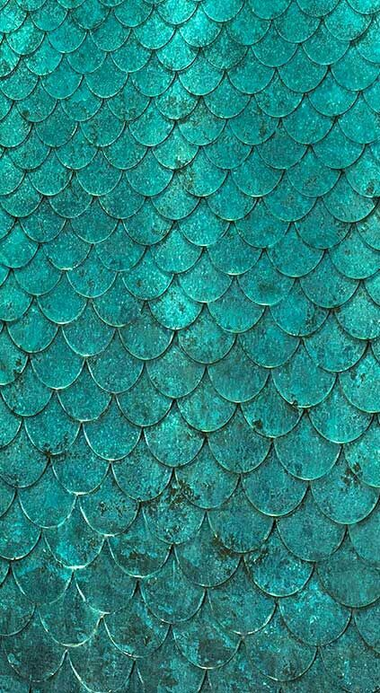 Teal Scales phone background