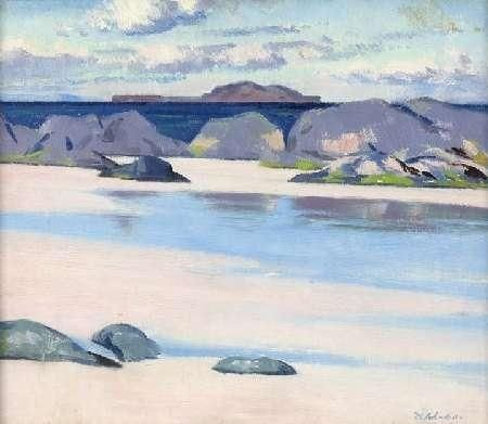 Francis Campbell Boileau Cadell, The Dutchman's Cap from Iona