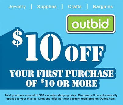 $10 off your first Outbid purchase
