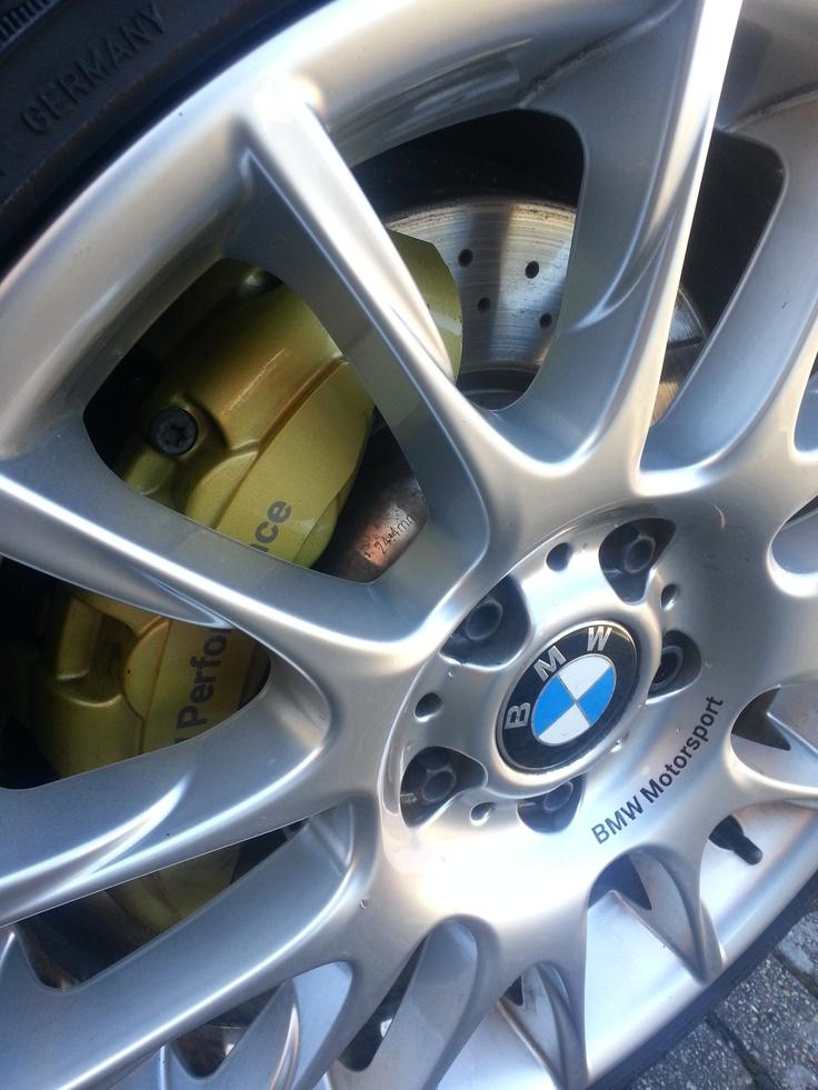 Increase the efficiency of brakes in an ATV?