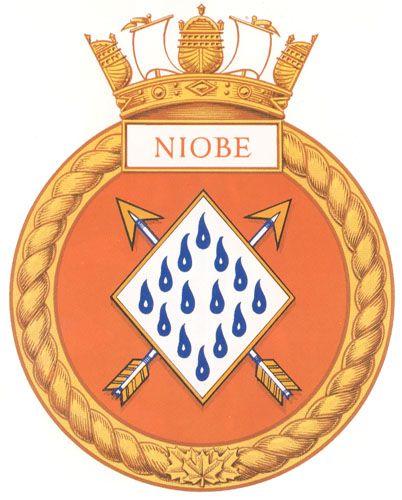 HMCS NIOBE Badge - The Canadian Navy - ReadyAyeReady.com
