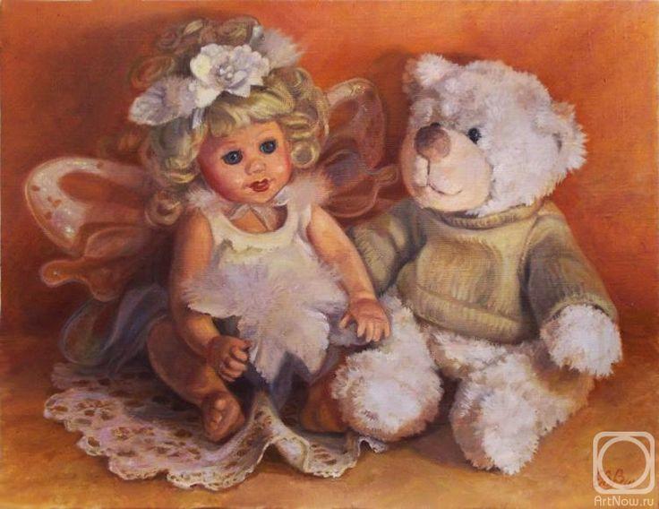 картинки с куклами и мишками таким образом фотографию