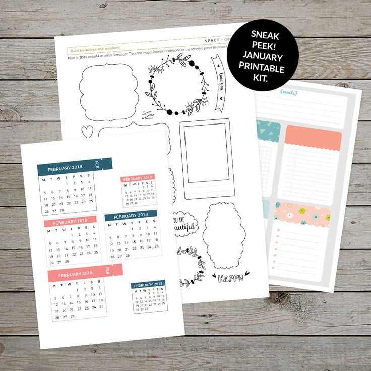 Sneak peek at the January printable planner kit for patrons! Click through to find out how you can join my Patreon community and access a new printable planner kit every month plus exclusive bullet journal and planning content! #bulletjournal #bulletjournaling #patreon #patreonrewards #happyplanners #plannerideas #bulletjournalideas #bulletjournalprintables #printablekit #printableplannerkit #printablecalendar #bulletjournaltemplates #bulletjournalcommunity #organisation #planner...