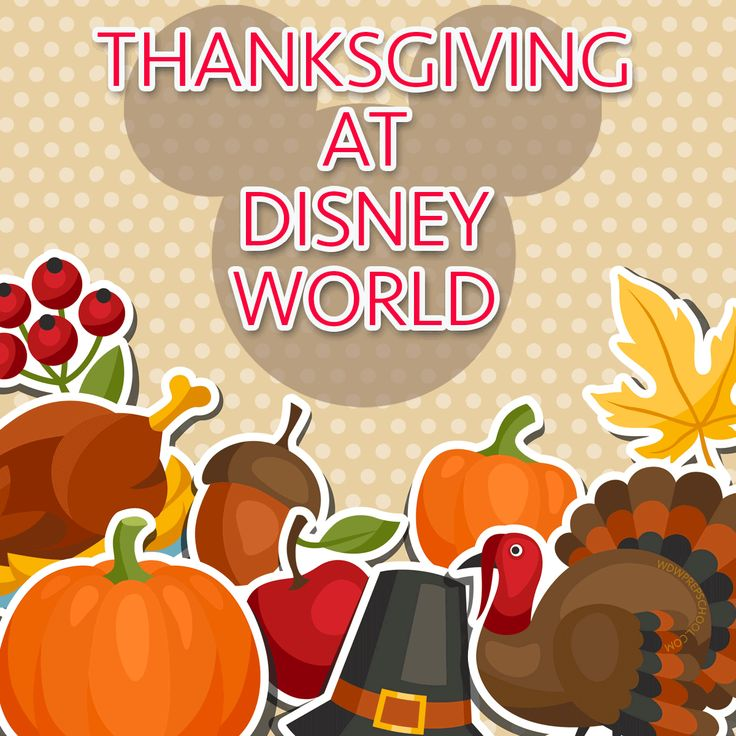Thanksgiving at Disney World - Advice, including where to spend your Thanksgiving meal and how to handle the crowds.