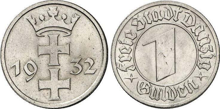 #Moneta z okresu Wolnego Miasta Gdańska / #Coin from the Free City of #Danzig period | #numismatics