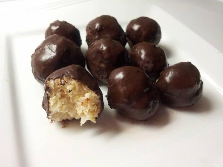 kokosky v čokoláde