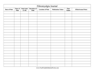 pain management templates - fibromyalgia pain d 39 epices and journals on pinterest