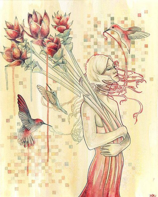 Creative Drawings by Kelly McKernan