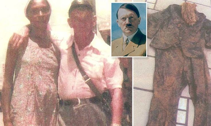 New book claims THIS picture proves Hitler escaped his Berlin bunker and died in South America in 1984 aged 95