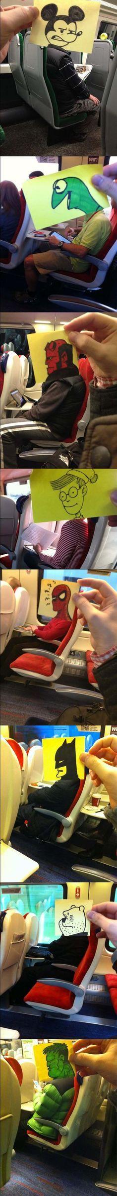 Iba un poco aburrido en el metro