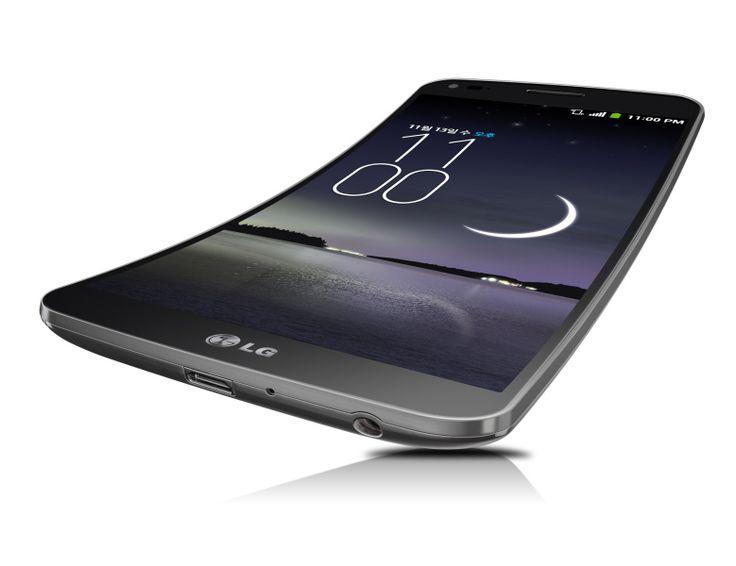 أعلنت شركة ألجي في كوريا الجنوبية رسمياً عن إطلاق جهازها المنحني LG G Flex