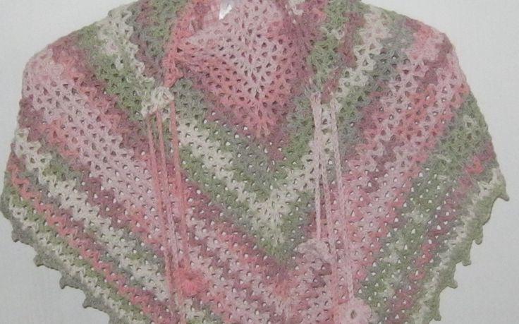 V-eekender shawl