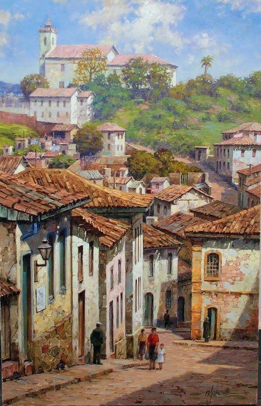 """Ouro Preto"" de Morgilli"