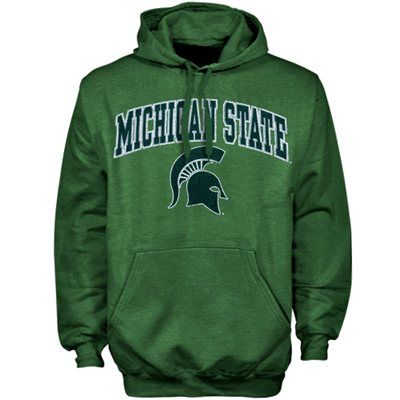 Michigan State Spartans Education Heathered Pullover Hoodie - Green - XXL - fanatics.com