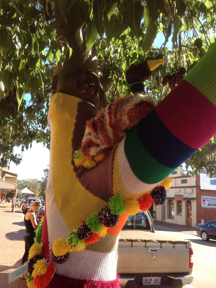 Colorful Fashion for Trees, Western Australia