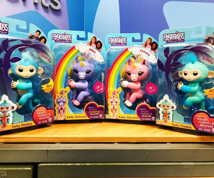 Direct from the North Pole! Quantities are limited; 1 per guest! Visit our Guest Services Desk today (12.24.2017) to complete that must have #Christmas list! #toysrus #toysruskid #todayweplay #fingerlings #fingerlingsmonkey #fingerlingsunicorn #hottoys #huntsvilletrubru #naughtyisnotanoption