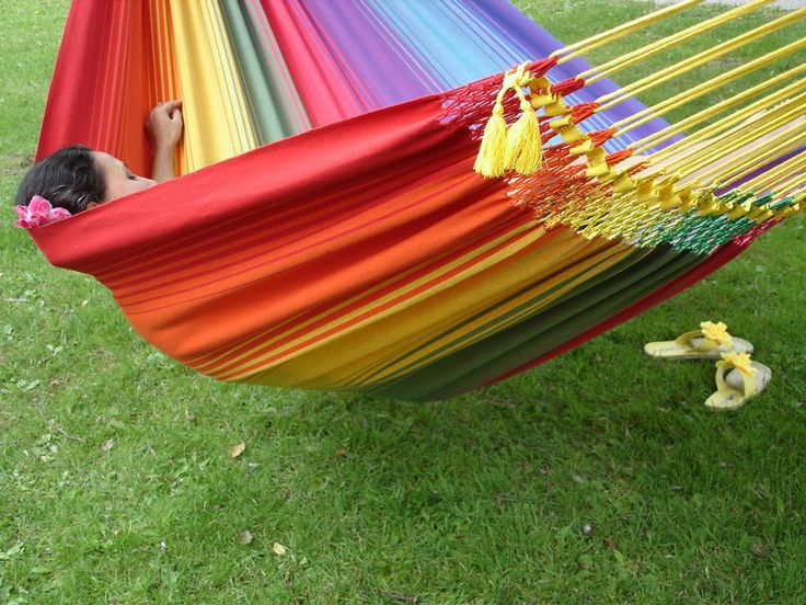 Relaxte Rainbow Two Large hangmat