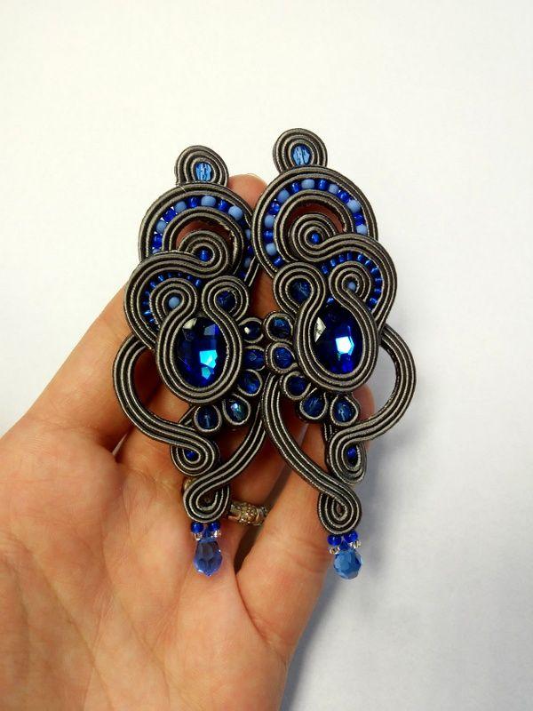 Soutache earrings by MaNiko