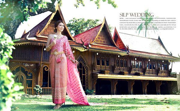 หวานๆกับชุดแต่งงานไทยๆ