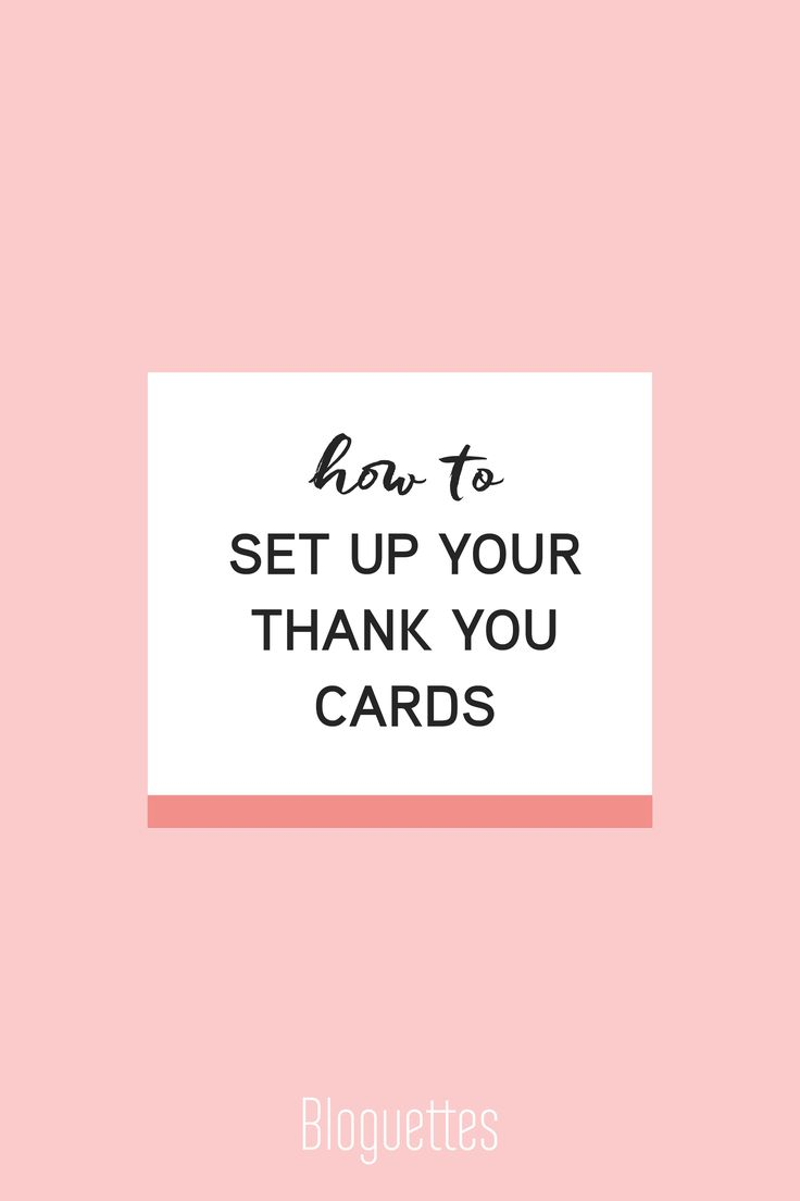 Best 25 business thank you cards ideas on pinterest for Thank you card for business