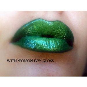 Green Lip Contour Liner Paint Green matte lip color lipstick
