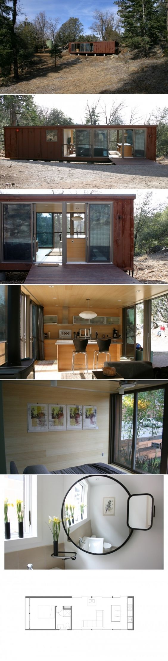 Nice 105 Impressive Tiny Houses That Maximize Function and Style https://decoratio.co/2017/03/105-impressive-tiny-houses-maximize-function-style/