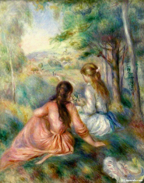 Pierre-Auguste Renoir, 00003049-Z. I love Renoir. Love the colors and the play of light in his work