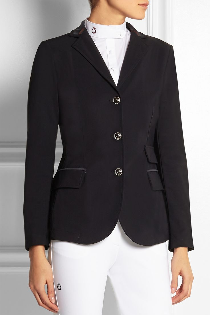 Cavalleria Toscana Stretch Crepe Competition Jacket