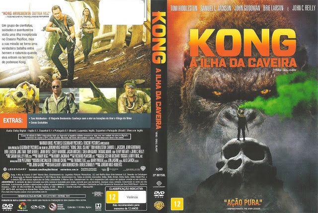 Angel Movies & Games Covers: Kong: A Ilha da Caveira