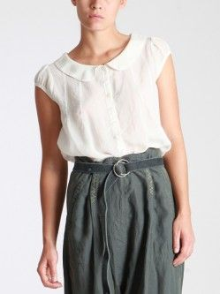 BLOUSE MADE OF TENCEL-CUPRO