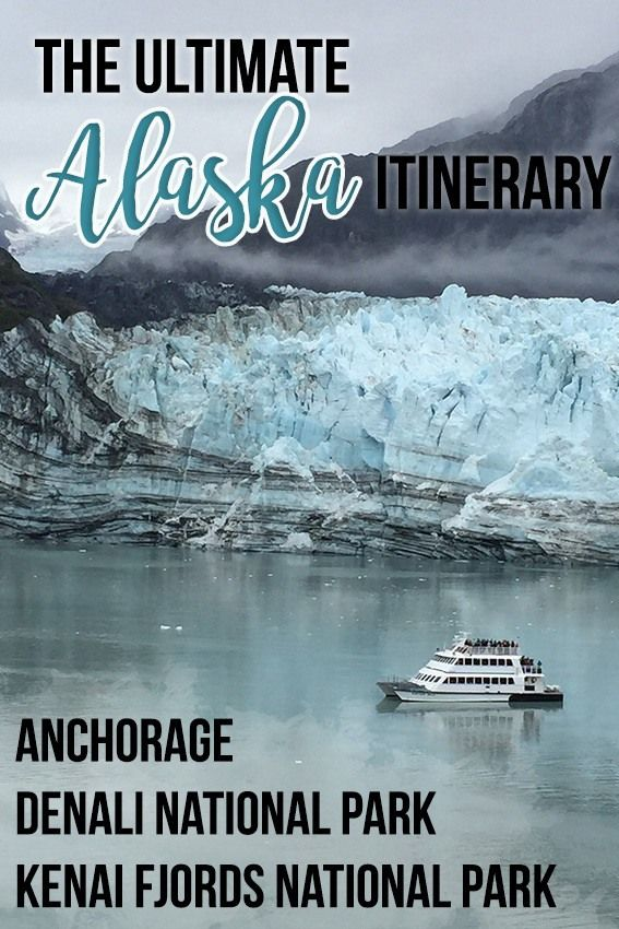 8 Day Alaska Road Trip Itinerary For Adventure Travelers Alaska Road Trip Alaska Travel Road Trip Itinerary