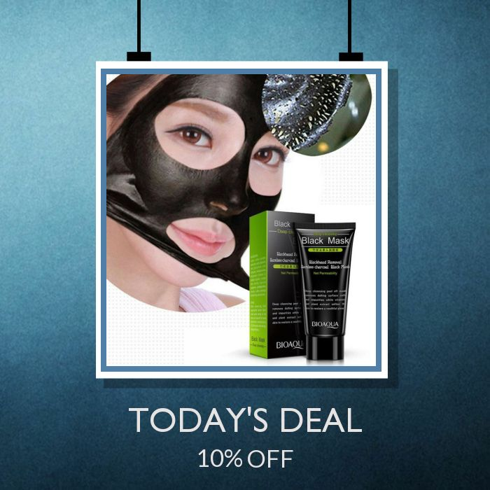 Today Only! 10% OFF this item.  Follow us on Pinterest to be the first to see our exciting Daily Deals. Today's Product: Sale -  Best Skin Care NEW Black Mud Deep Cleansing Pilaten Blackhead Remover Buy now: https://small.bz/AAYmcdq #musthave #loveit #instacool #shop #shopping #onlineshopping #instashop #instagood #instafollow #photooftheday #picoftheday #love #OTstores #smallbiz #sale #dailydeal #dealoftheday #todayonly #instadaily