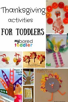 Are you looking for Thanksgiving crafts for toddlers? We've rounded up the best Thanksgiving activities, and they are all suitable for toddler age children.