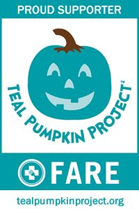 Teal Pumpkin Project™ - Food Allergy Research & Education   Register your house if you're giving out non-food treats to help those who are food allergic!