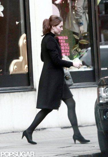 Kate Middleton Shops at Harvey Nichols