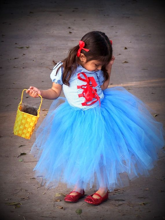 Dorothy Costume corset and tutu Set with Bows by CHICLILLOVEBUGS, $84.99