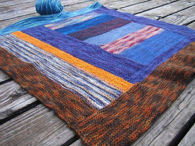 Ravelry: Itty Bitty Sockyarn Bits Blanket pattern by Christine Long Derks