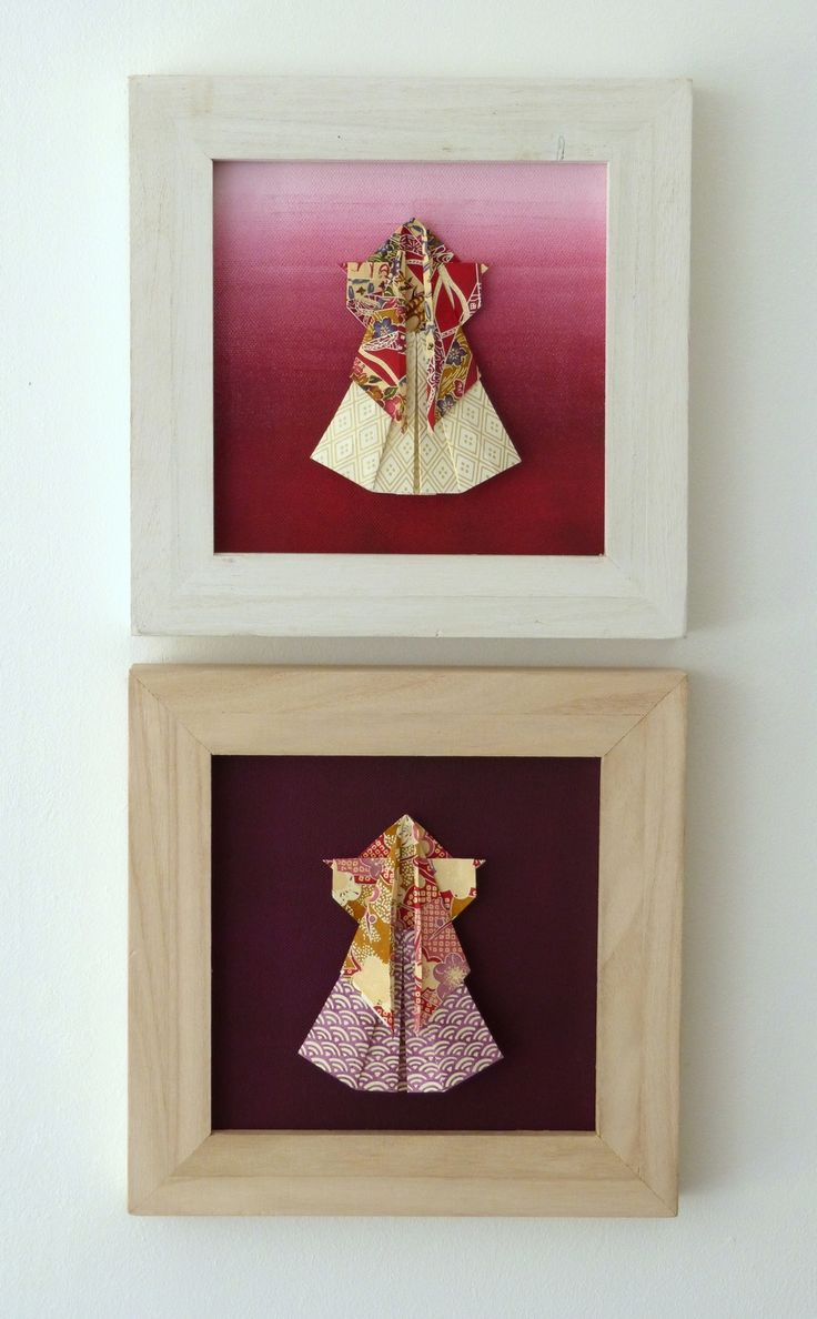 Kimono Aïkido origami