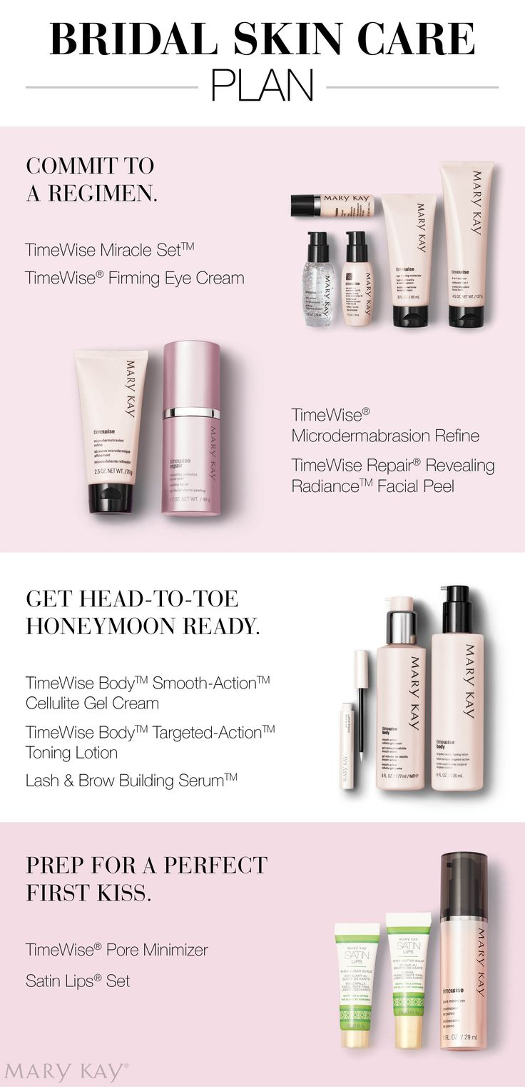 Don't wait until it's too late! Start your ultimate skin care regimen to ensure your skin is at it's best for your big day. | Mary Kay