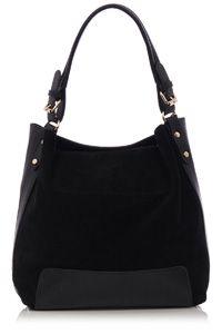 Holly Suede Hobo Bag