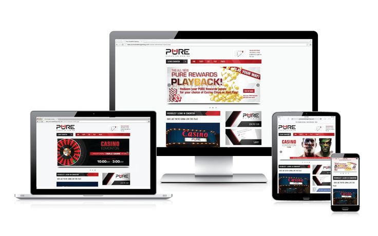 A brand new, responsive website was just what Pure Canadian Gaming needed to get their name out there and draw new clients into their casinos. #webdesign #onlinemarketing #responsiveweb