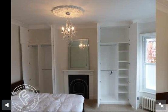 Master bedroom - wardrobes
