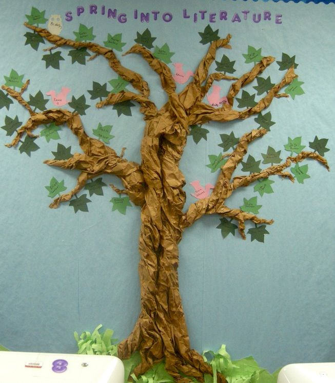 paper tree idea. Sans leaves