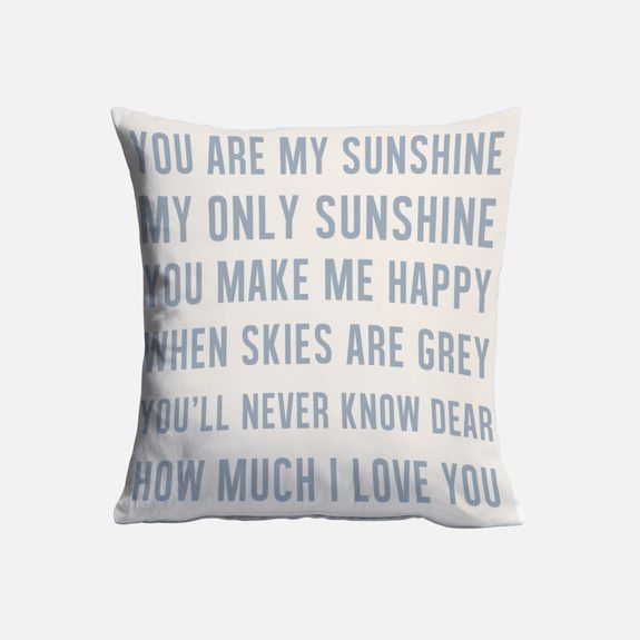 Superbalist Cushions - You Are My Sunshine Cushion