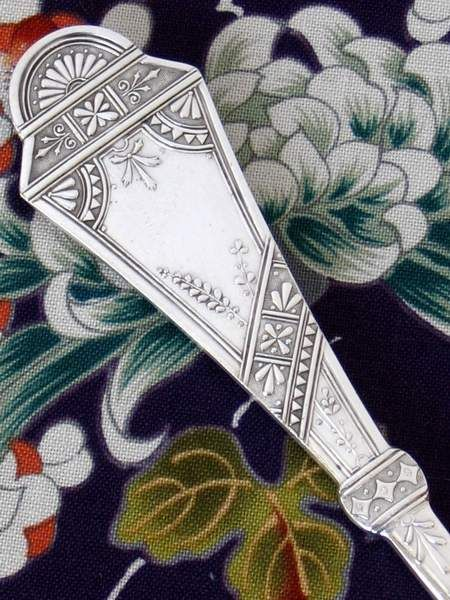 Elegant Victorian flatware. - Pinned by Pam of Eastlake Victorian onto Beautiful Eastlake Objects from flickr.com